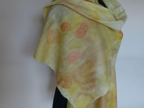 Виды рукавов в одежде из войлока. Создание эко-принта на валяном шарфе   Ярмарка Мастеров - ручная работа, handmade