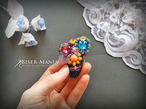 Мастер-класс по созданию броши | Ярмарка Мастеров - ручная работа, handmade