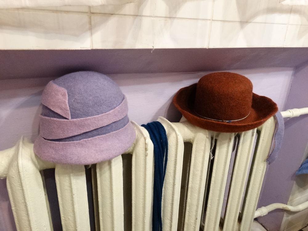 шляпа из шерсти
