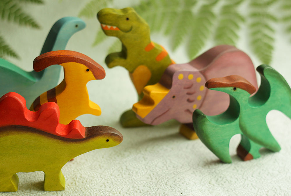 игрушки из дерева, игра