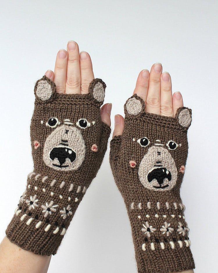 漂亮温暖的手套 - maomao - 我随心动