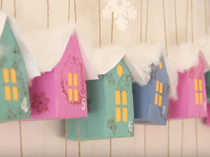Делаем Адвент-календарь для детей. Ярмарка Мастеров - ручная работа, handmade.