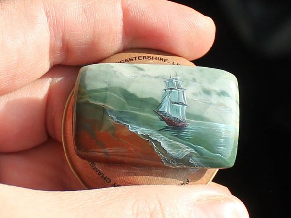 Кораблик на ногте и анонс продажи 19 марта | Ярмарка Мастеров - ручная работа, handmade