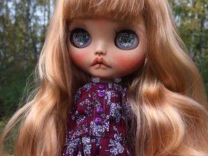Anya. New Girl. Custom Blythe. Ярмарка Мастеров - ручная работа, handmade.