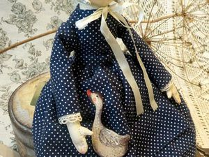 Кукла в винтажном стиле Джейн | Ярмарка Мастеров - ручная работа, handmade