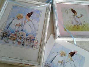 Добавлены новые работы с ангелами на аукцион!!!. Ярмарка Мастеров - ручная работа, handmade.