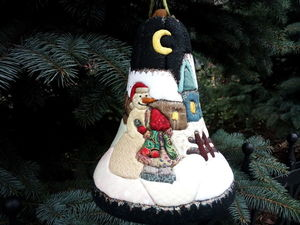 """Bell"" Christmas Toy. Livemaster - handmade"