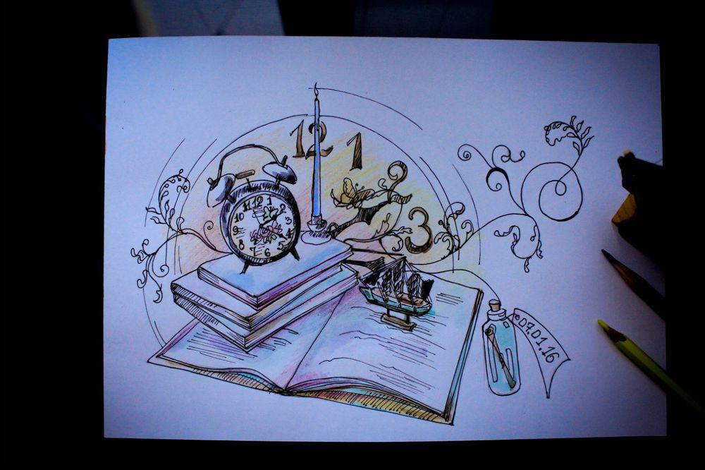 sketchbook, как нарисовать