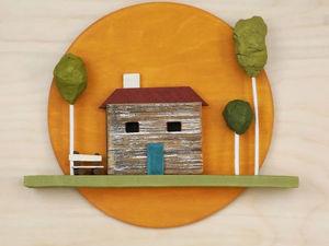 История к деревянному панно