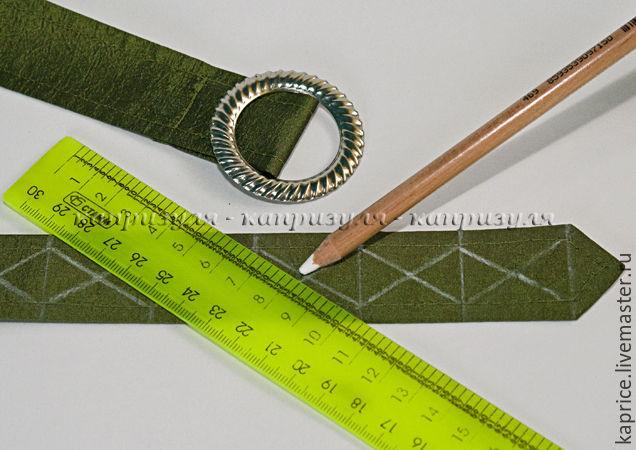 ремень из ткани