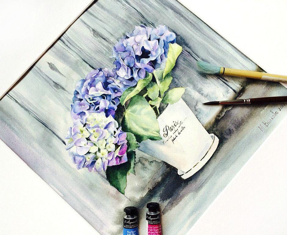 акварельная живопись, сова, научиться рисовать, обучение рисованию