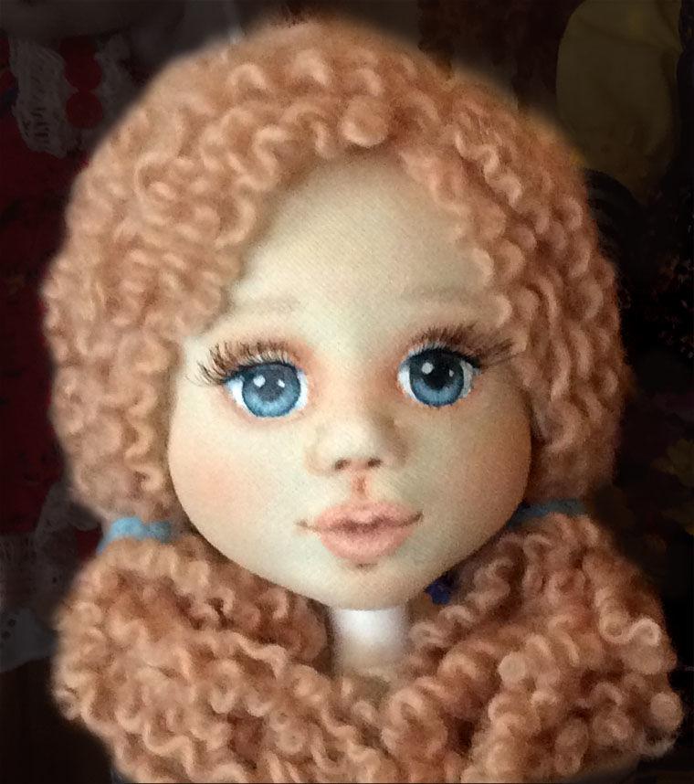 кукла интерьерная, кукла