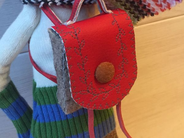 Шьем рюкзачок для куклы или игрушки | Ярмарка Мастеров - ручная работа, handmade