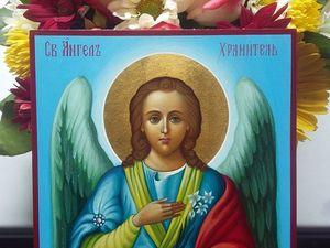 Скидки на иконы Ангела -Хранителя. Ярмарка Мастеров - ручная работа, handmade.