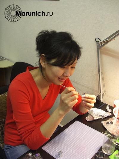 мастер-класс полимерная глина, Mokume Gane, Mokume Gane мастер-класс