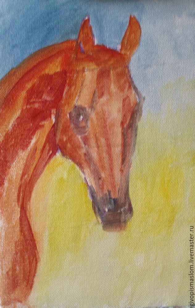 учимся рисрвать лошадь