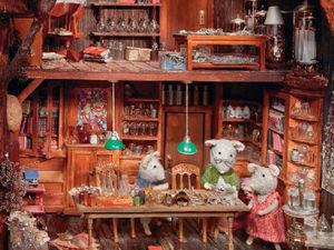 Мышиный мир Карины Схапман. Ярмарка Мастеров - ручная работа, handmade.