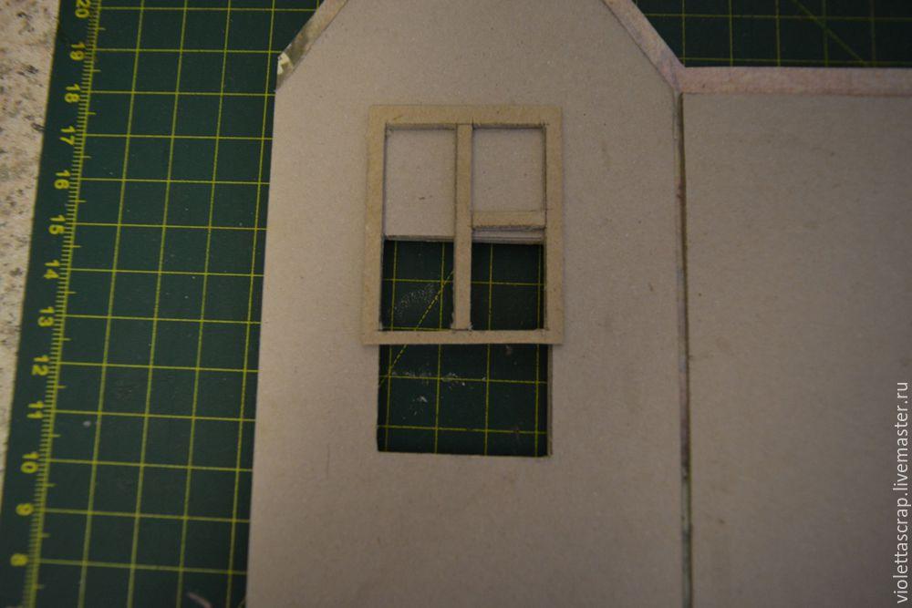 Мастер-класс: изготавливаем дуэт из чайных домиков с конфетницей, фото № 6