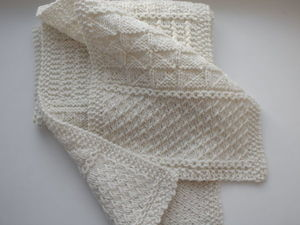 Новый шарф из пряжи Mogul. Ярмарка Мастеров - ручная работа, handmade.