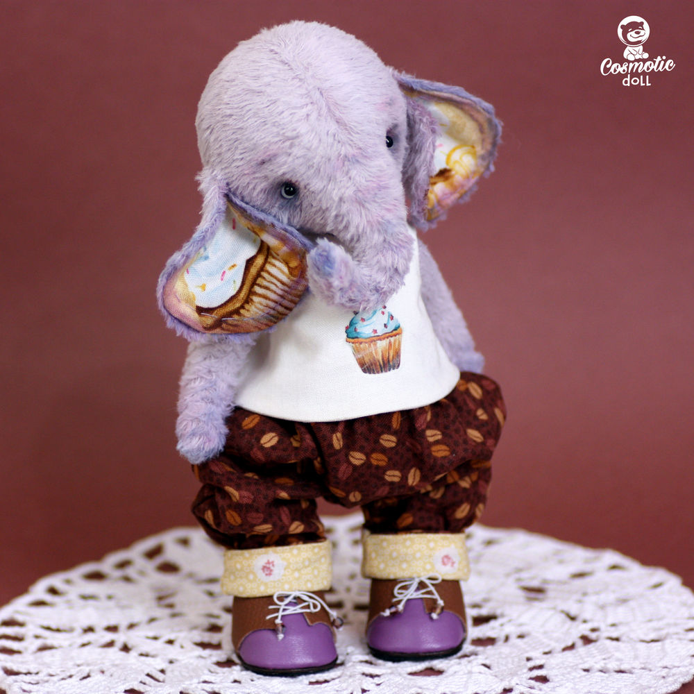тедди слоник коллекция, подарок для любимого