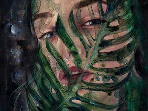 Видеоурок: рисуем портрет девушки акварелью. Speed Painting. Ярмарка Мастеров - ручная работа, handmade.