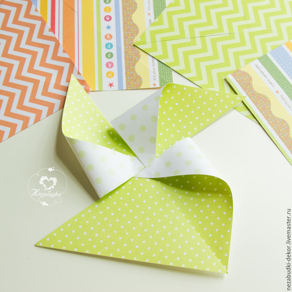 DIY for Kids and Parents: Making a Paper Wind Mill, фото № 8