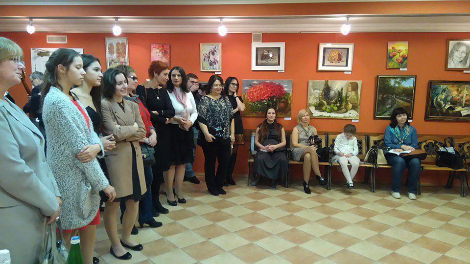 выставка, картины, натюрморт маслом, пейзаж