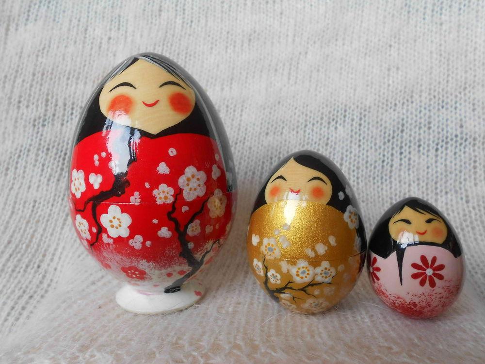 пасха, роспись по дереву, роспись кокеши, роспись кукол