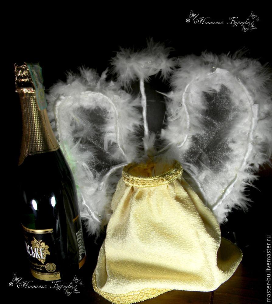 декор бутылки, подарки ручной работы