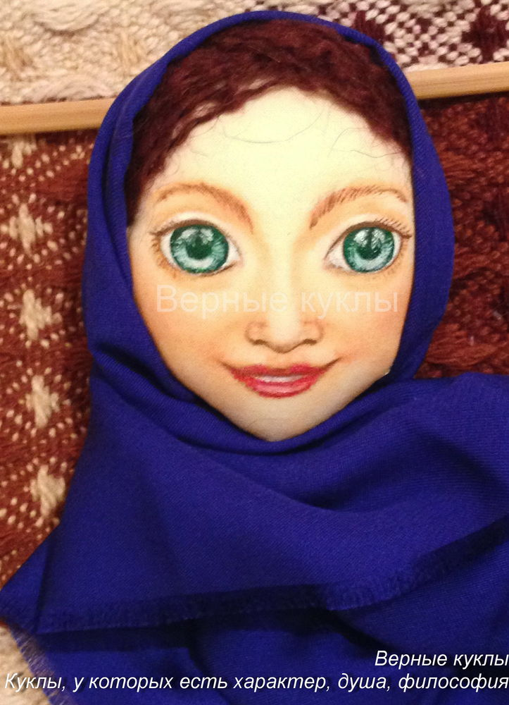 кукла своими руками, волосы для куклы