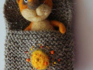 Новый котик в кармашке в моем магазине)) | Ярмарка Мастеров - ручная работа, handmade
