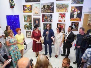 Выставка во Владимире в галерее Стремянка июнь 2016. Ярмарка Мастеров - ручная работа, handmade.