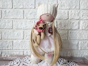 Первая кукла Аннет. Ярмарка Мастеров - ручная работа, handmade.