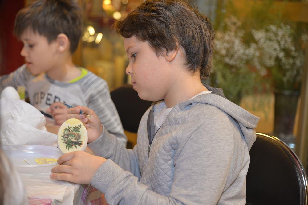 мастер-класс, мастер-класс в москве, декупаж для детей, пасхальное яйцо