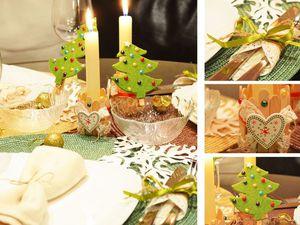 Видеоурок: как сделать украшения для новогоднего стола. Ярмарка Мастеров - ручная работа, handmade.
