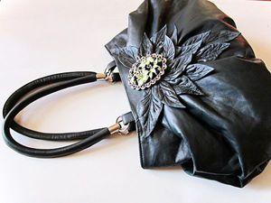 Как сделать выкройку сумки методом наколки | Ярмарка Мастеров - ручная работа, handmade