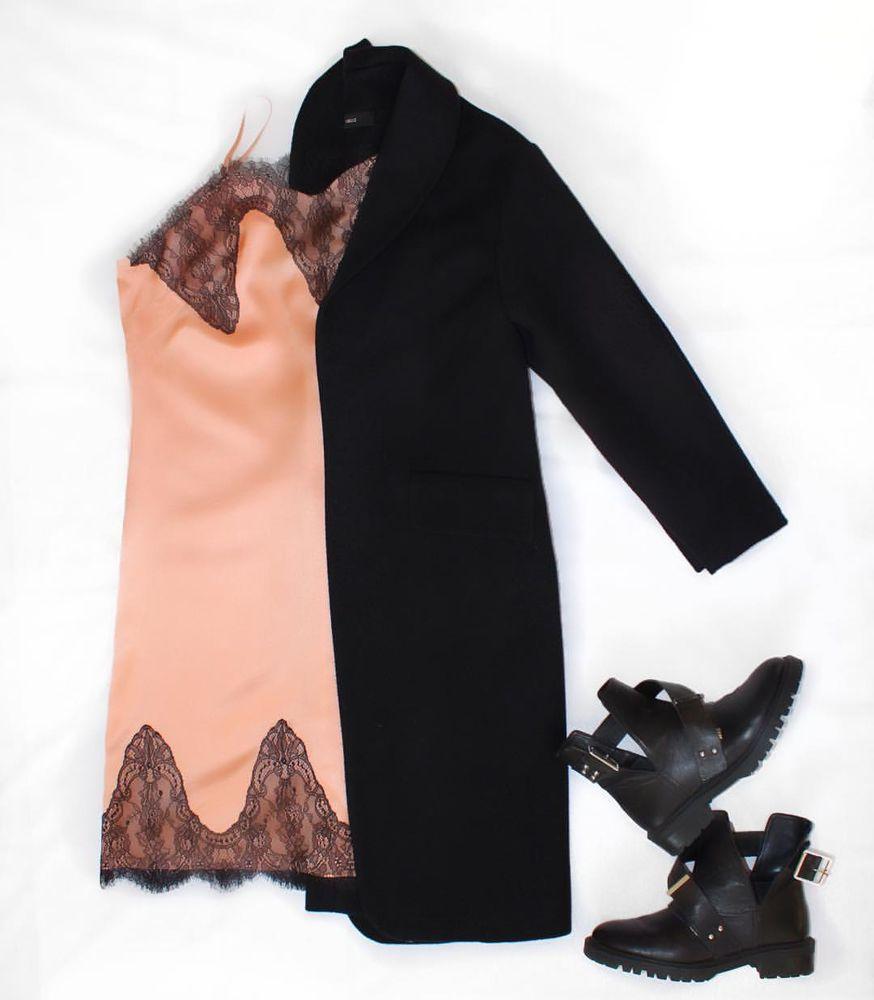 новинка магазина, платье из шелка, платье с кружевом