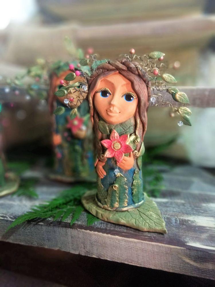 новые идеи, магия, папоротник, подарок девушке, кукла оберег