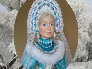 Новая новогодняя кукла | Ярмарка Мастеров - ручная работа, handmade