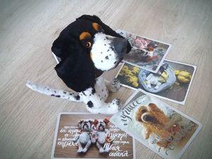Пёсик дома:) | Ярмарка Мастеров - ручная работа, handmade