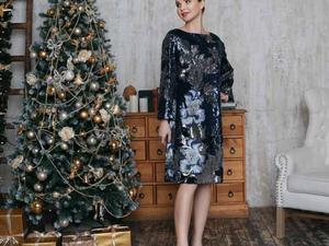 Сияйте в новогоднюю ночь! Платье с пайетками - главный тренд 2017-2018. Ярмарка Мастеров - ручная работа, handmade.
