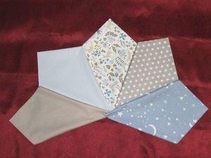 Нарезан Набор тканей Премиум серо-голубой. Ярмарка Мастеров - ручная работа, handmade.