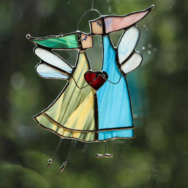 стекло, любовь
