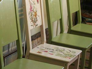 Фотоотчет: Роспись стульев.. Ярмарка Мастеров - ручная работа, handmade.