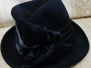 Аукцион с нуля на шляпку!. Ярмарка Мастеров - ручная работа, handmade.