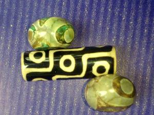 Коротко про тибетские бусины Дзи (Зи) | Ярмарка Мастеров - ручная работа, handmade