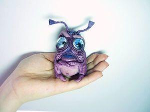 SOS! Инопланетяшкам нужны друзья и уютный уголок!!!. Ярмарка Мастеров - ручная работа, handmade.