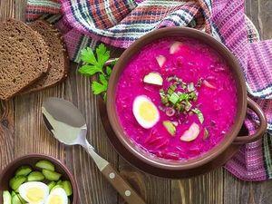 Холодный свекольник — классический рецепт для жаркого летнего дня. Ярмарка Мастеров - ручная работа, handmade.