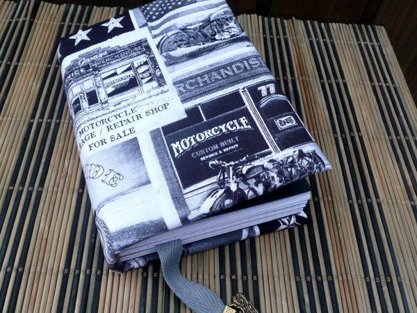 Байкерский блокнот | Ярмарка Мастеров - ручная работа, handmade