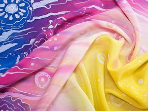 Скидки 25% на шарфы из натурального шёлка. Ярмарка Мастеров - ручная работа, handmade.
